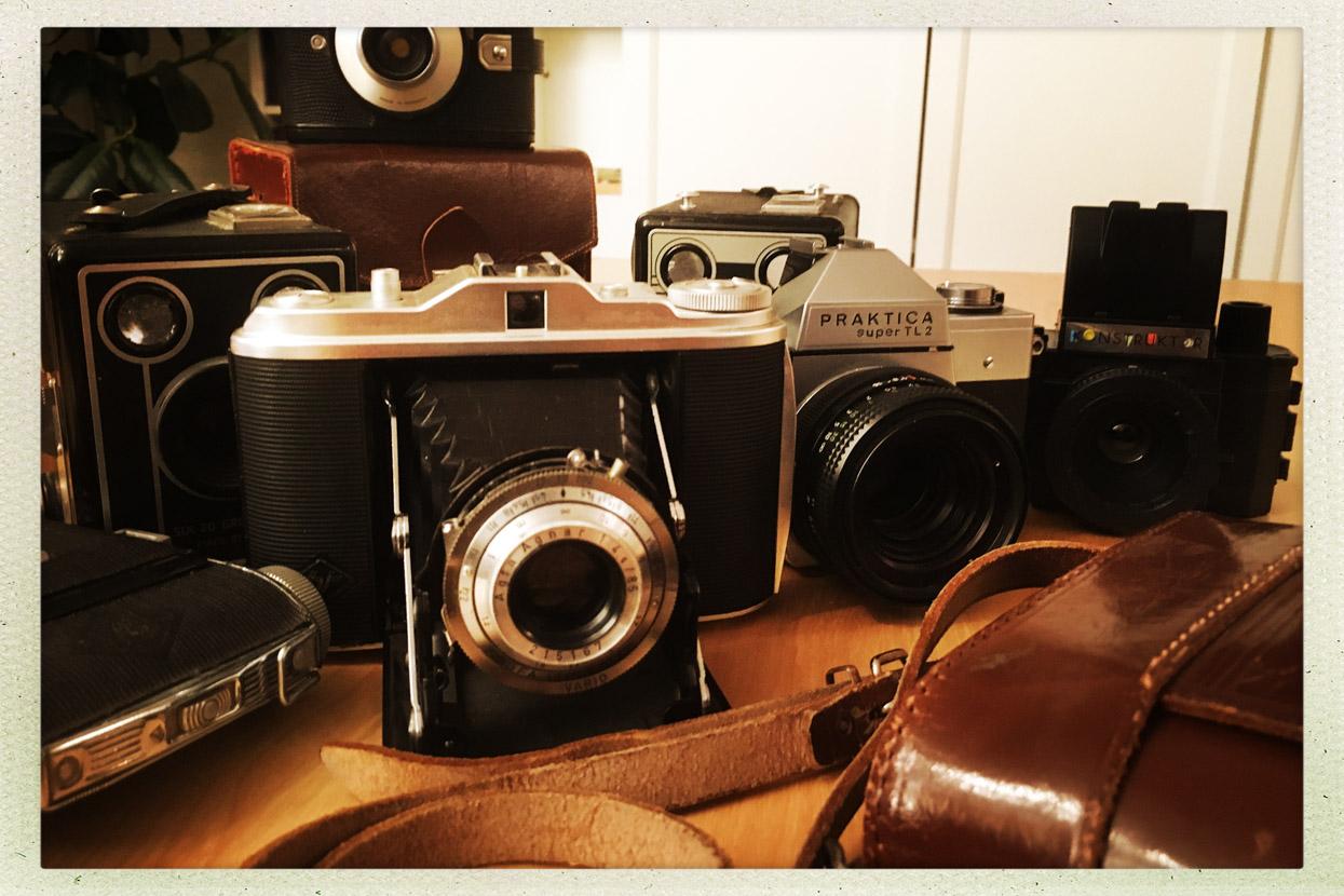 Oude camera's -Edward