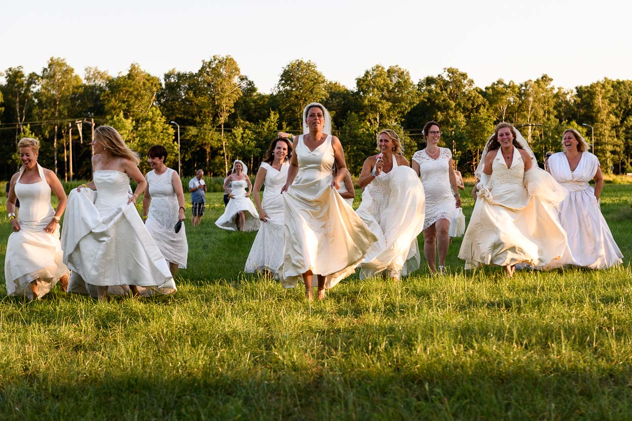 Rennende bruiden