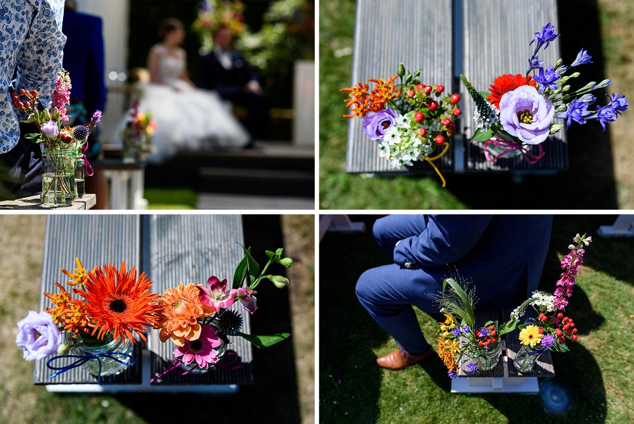 bloemen op je trouwdag