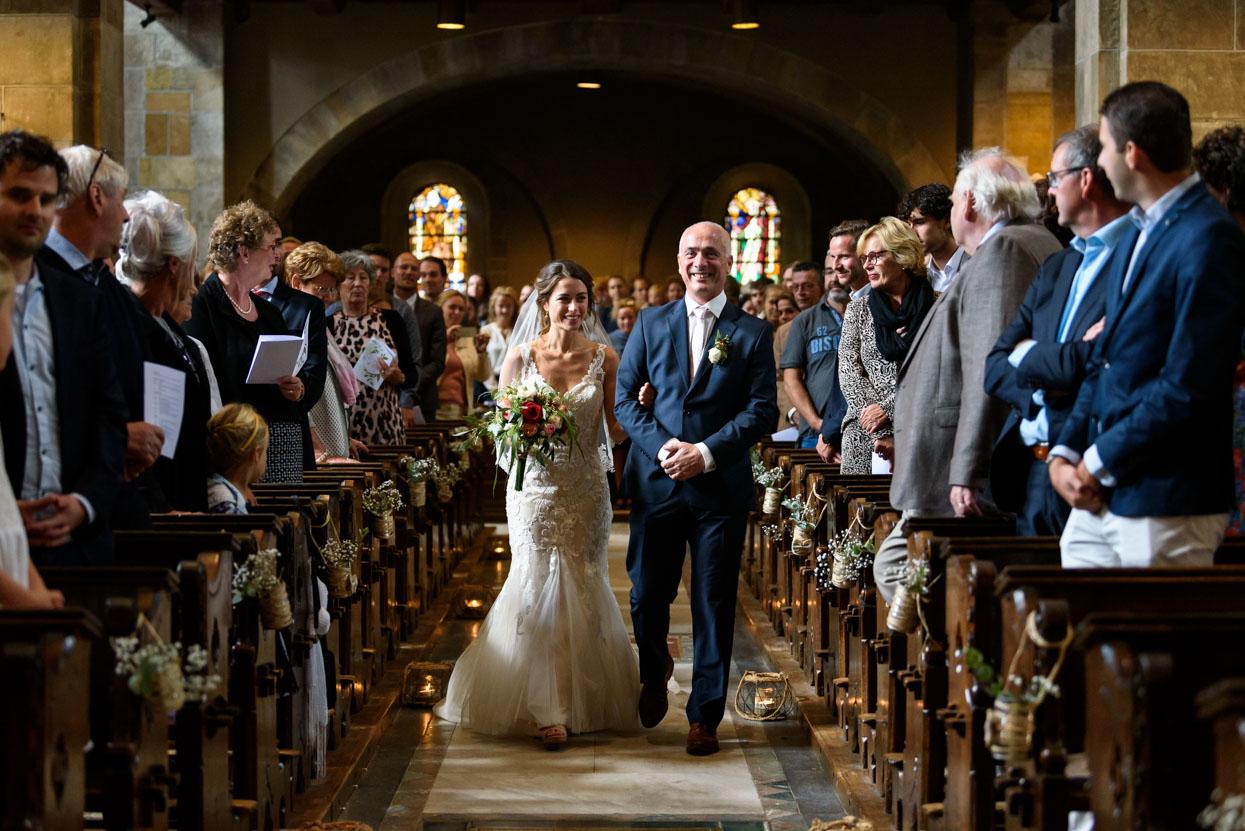 Bruidsfotografie kerkelijk huwelijk