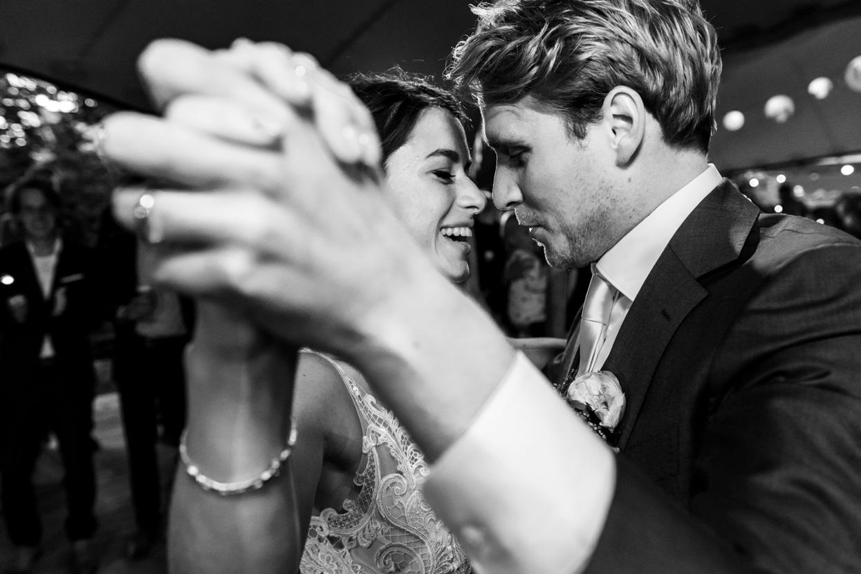Bruidsfotografie feestfoto's
