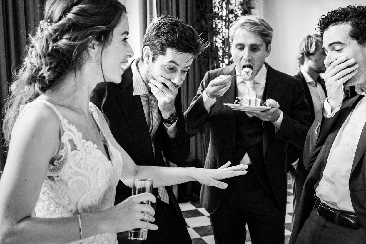 Bruidsfotografie receptie