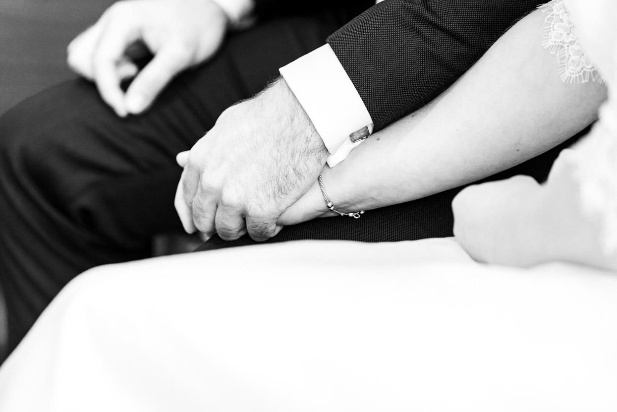 Detailfoto's van de bruiloft