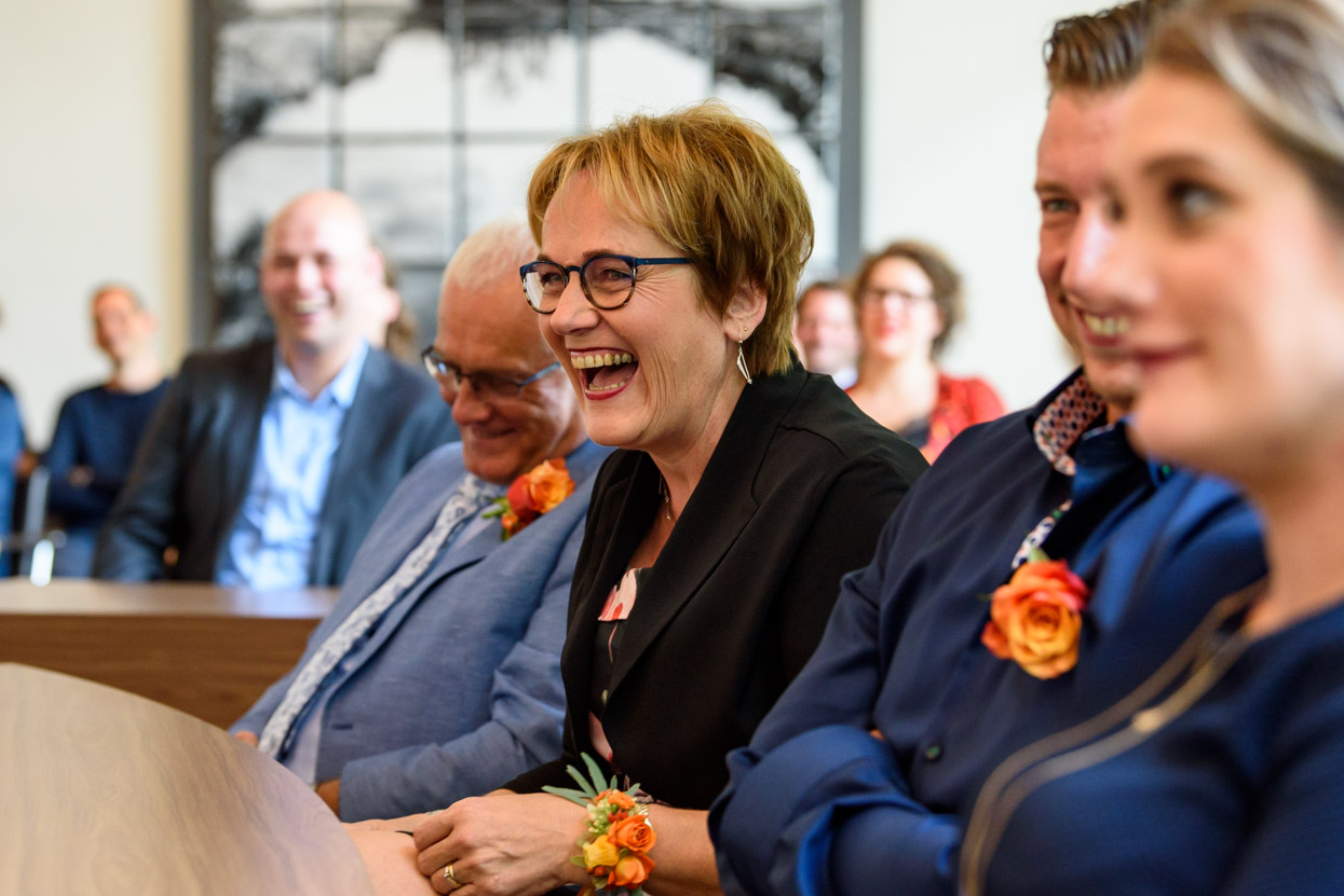 Ceremonie in gemeentehuis Son en Breugel bij Eindhoven