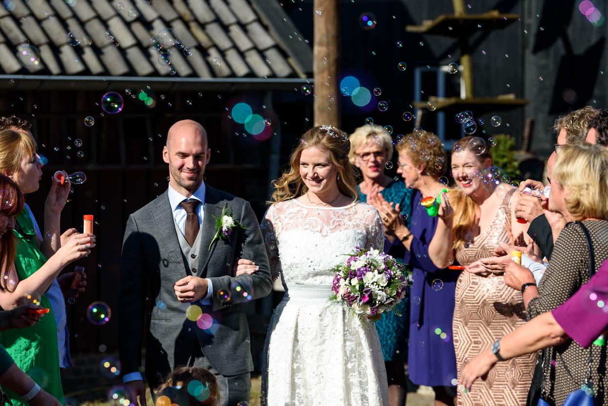 Bruidsfotografie door twee fotografen