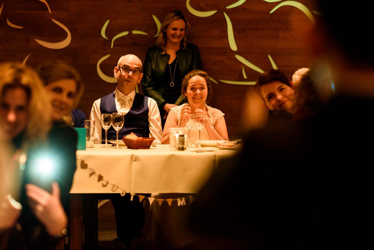 Foto's van het diner