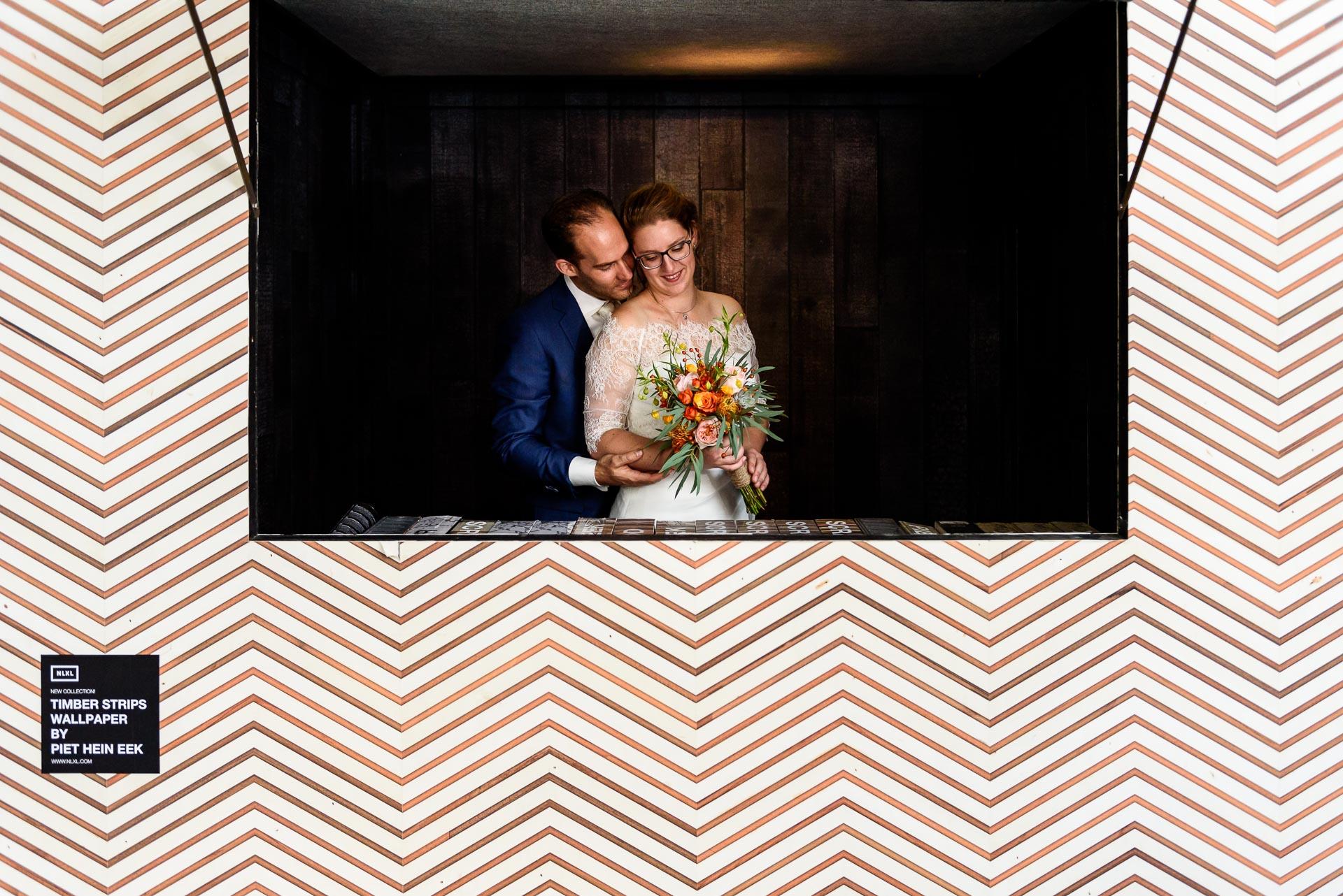 Bruidsfotografie bij Piet Hein Eek