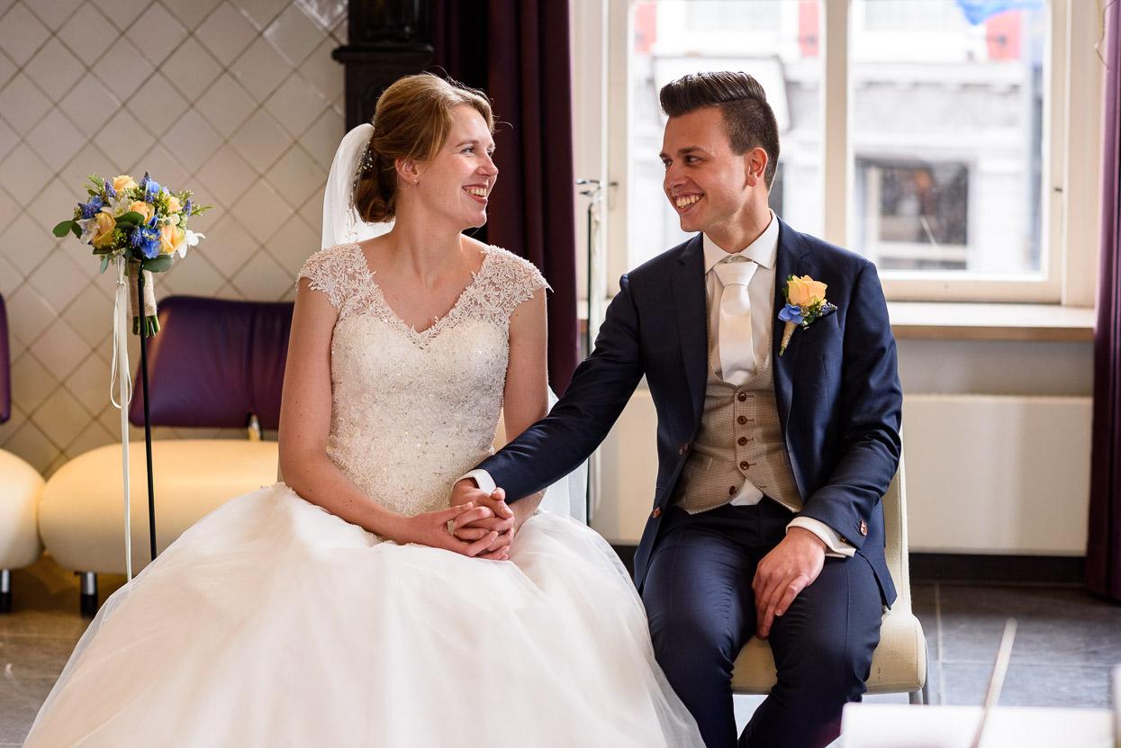 trouwen in het raadhuis roosendaal