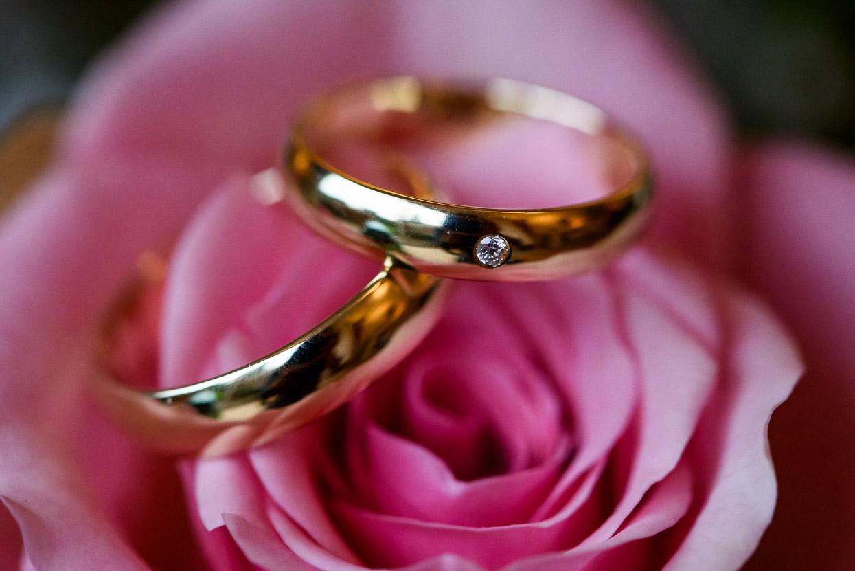 foto van trouwringen