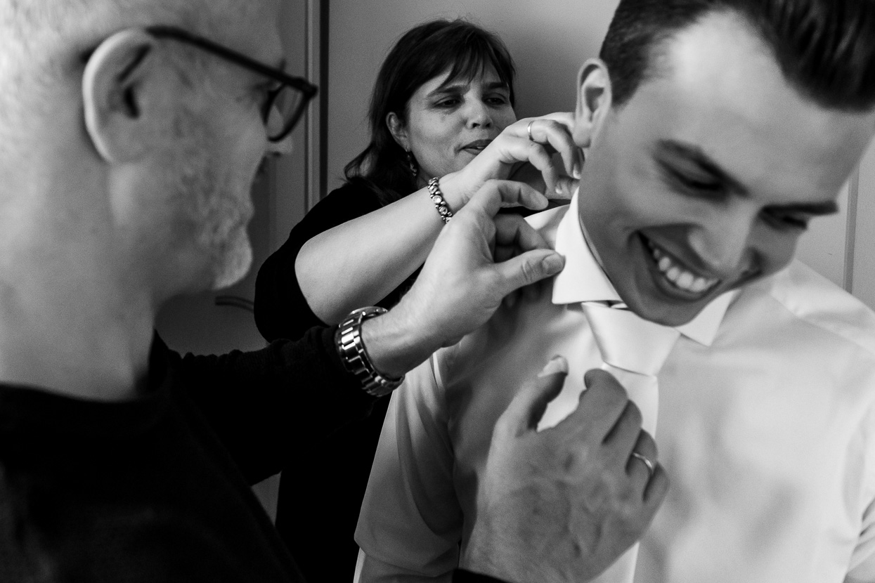 voorbereidingen van de bruidegom