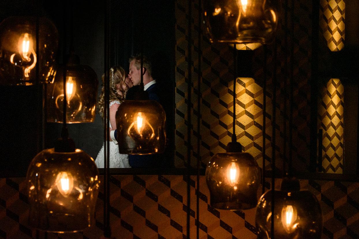 bruidspaar bij Mereveld