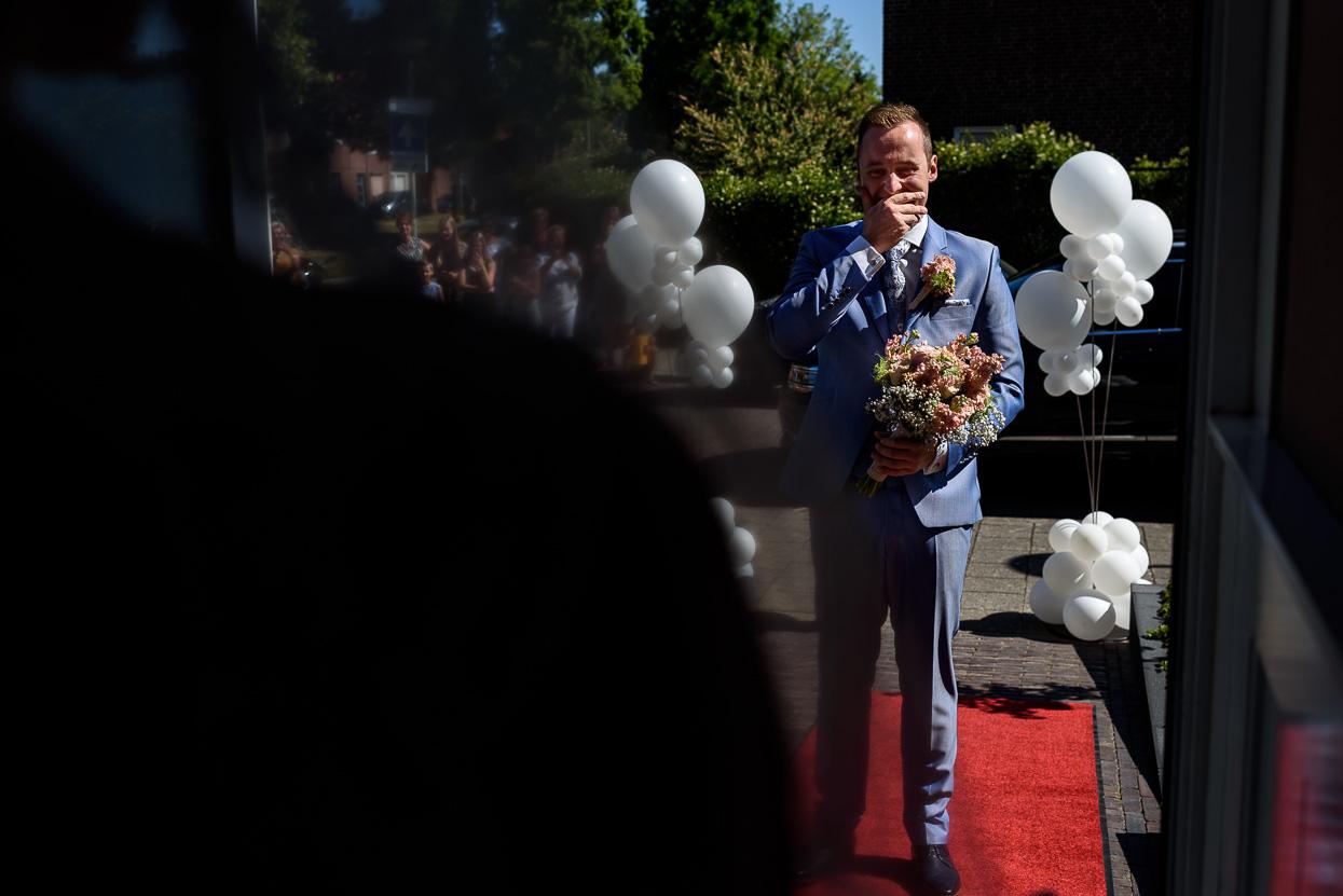 first look van de bruidegom