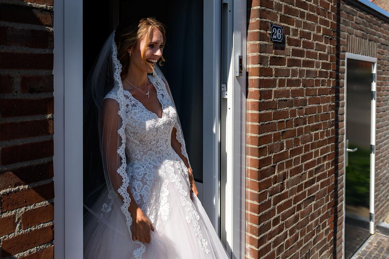 first look van de bruid