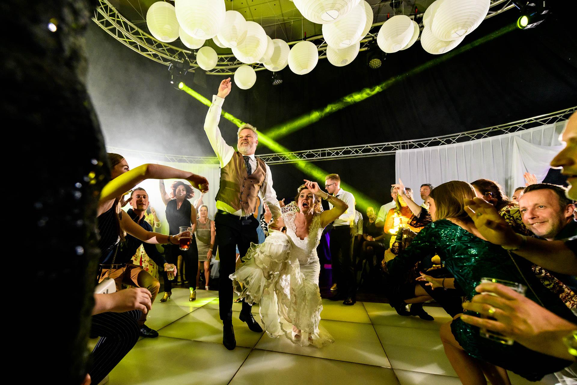 feestfoto's van je bruiloft
