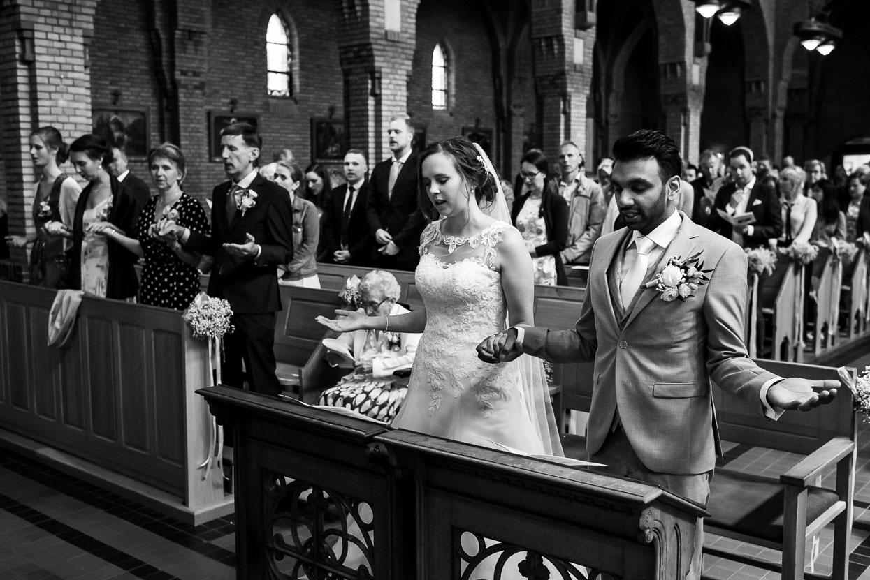 bruidsfotograaf kerkelijk huwelijk