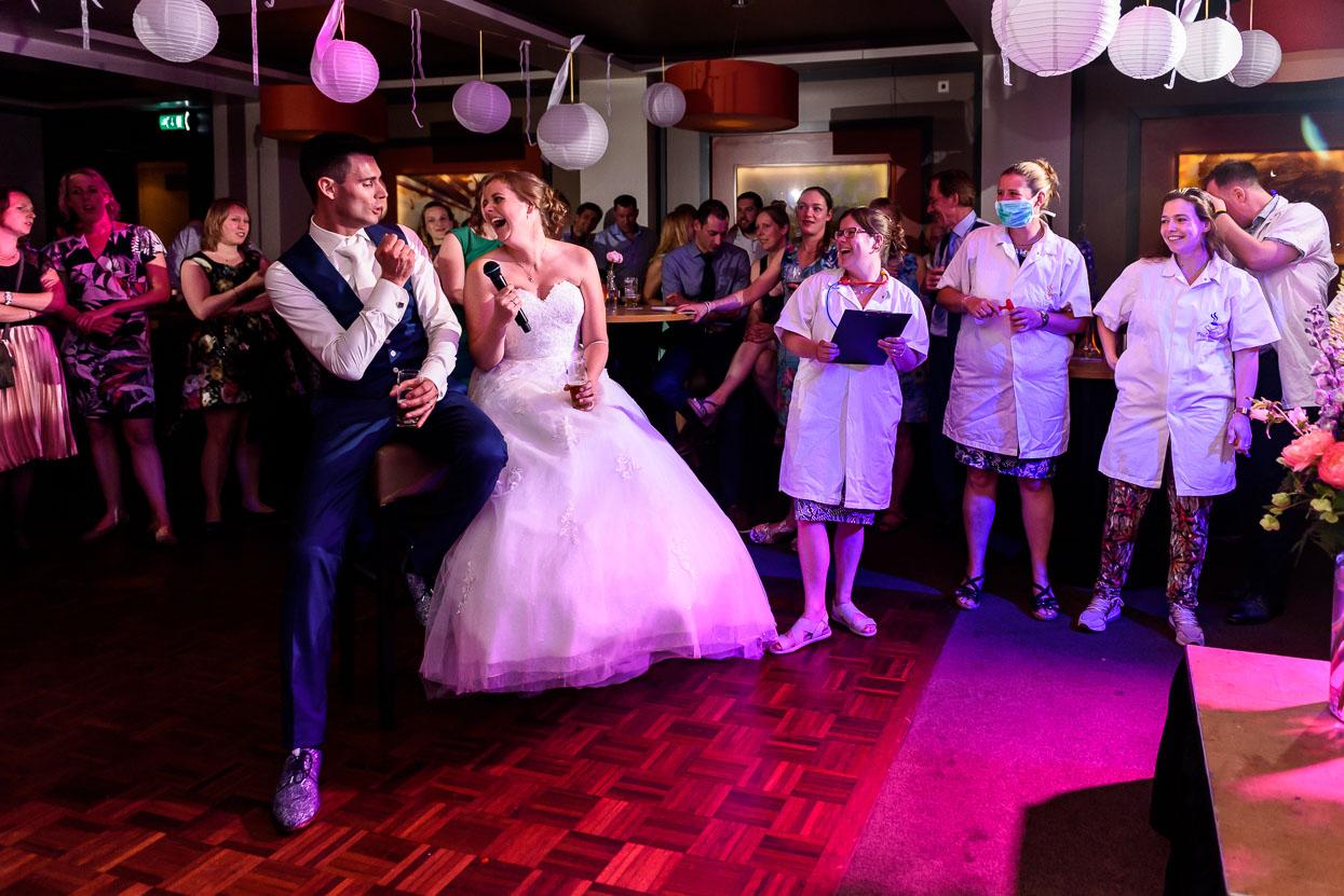 stukjes van vrienden op je bruiloft