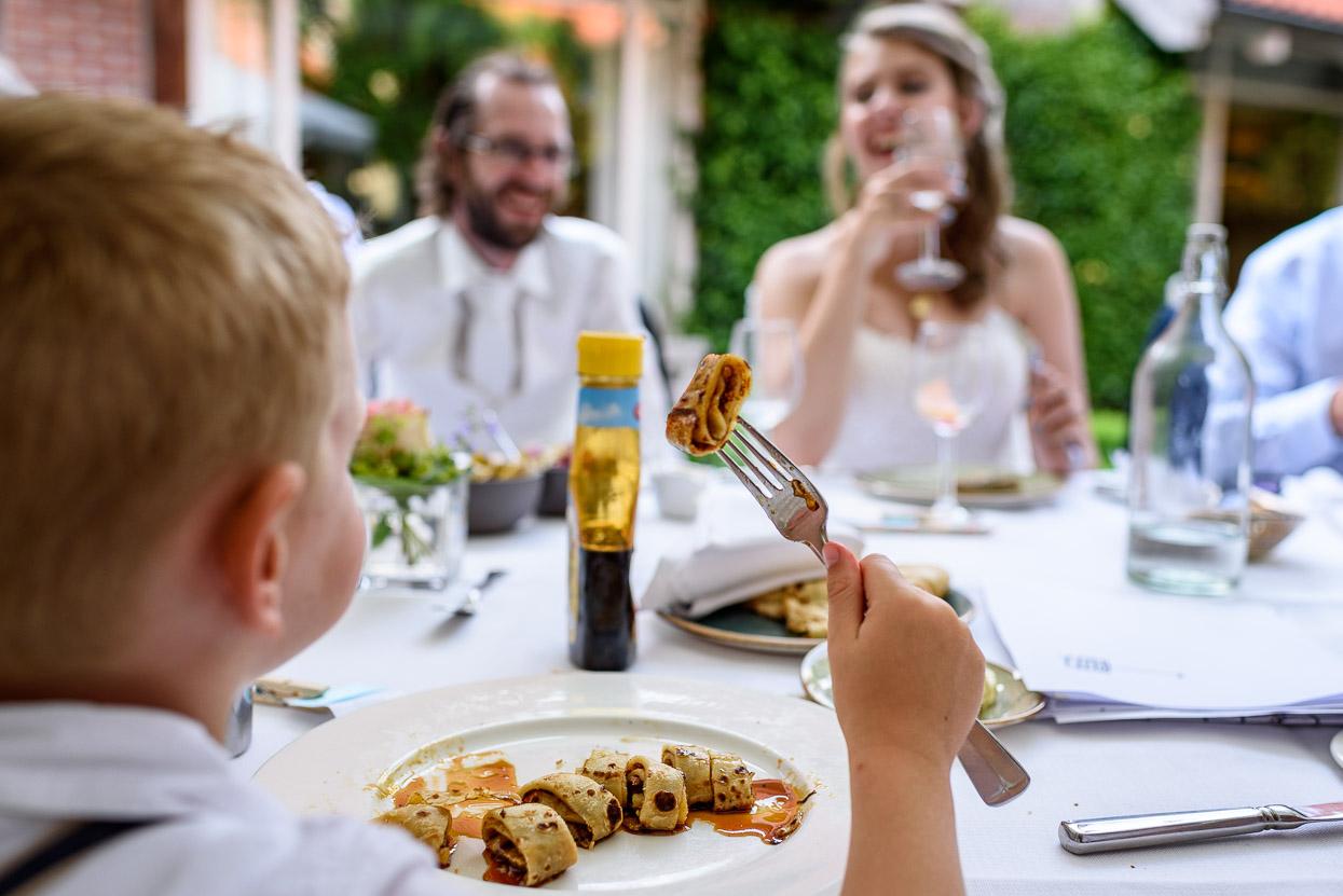 pannenkoeken voor kinderen op je bruiloft