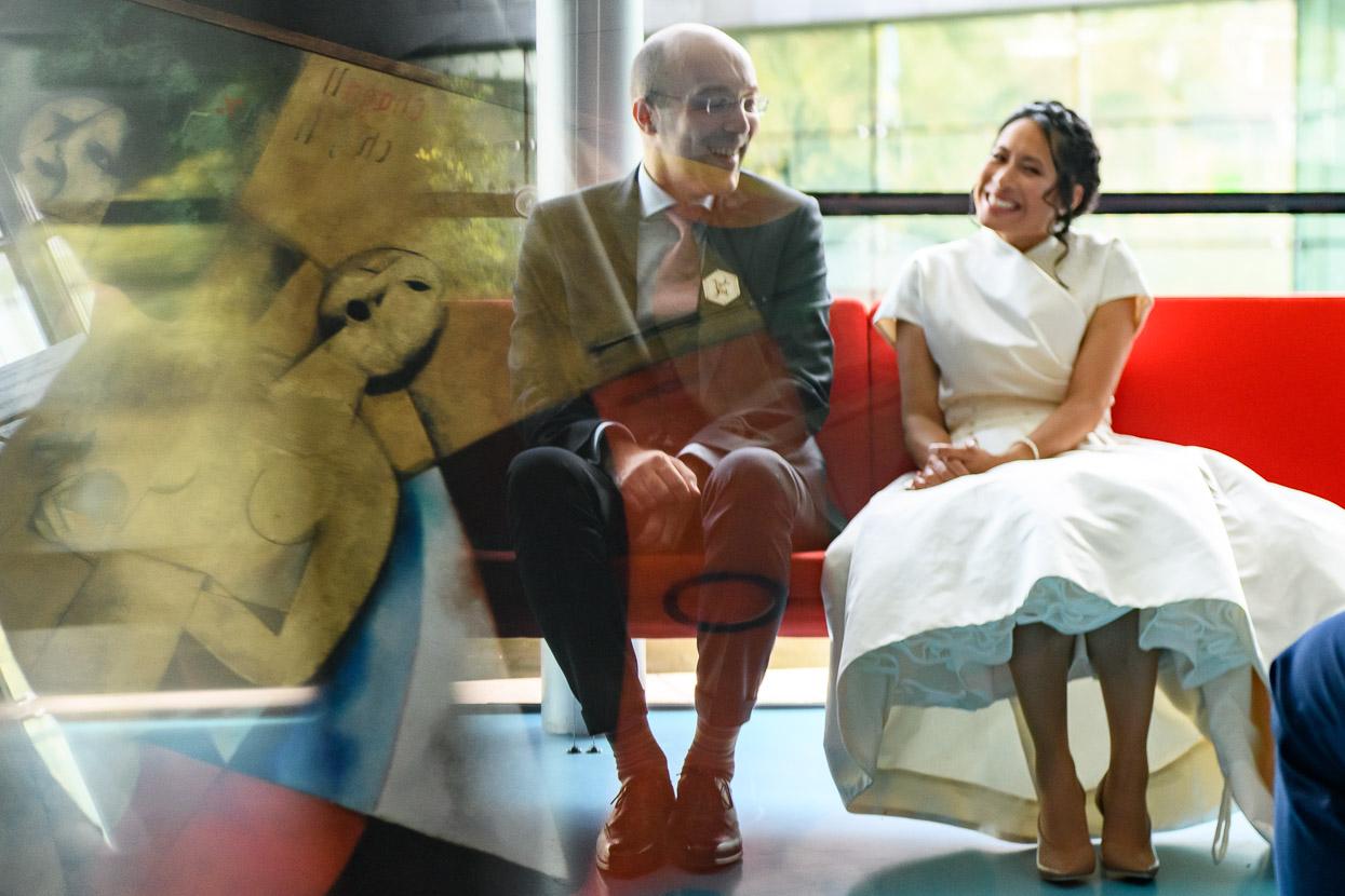 trouwen in een museum
