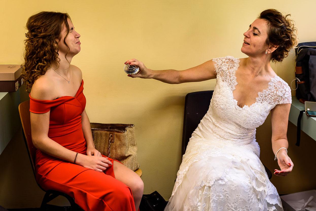klaarmaken voor je bruiloft samen met je kinderen