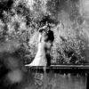 bruidsfoto's bij golbaan het Woold