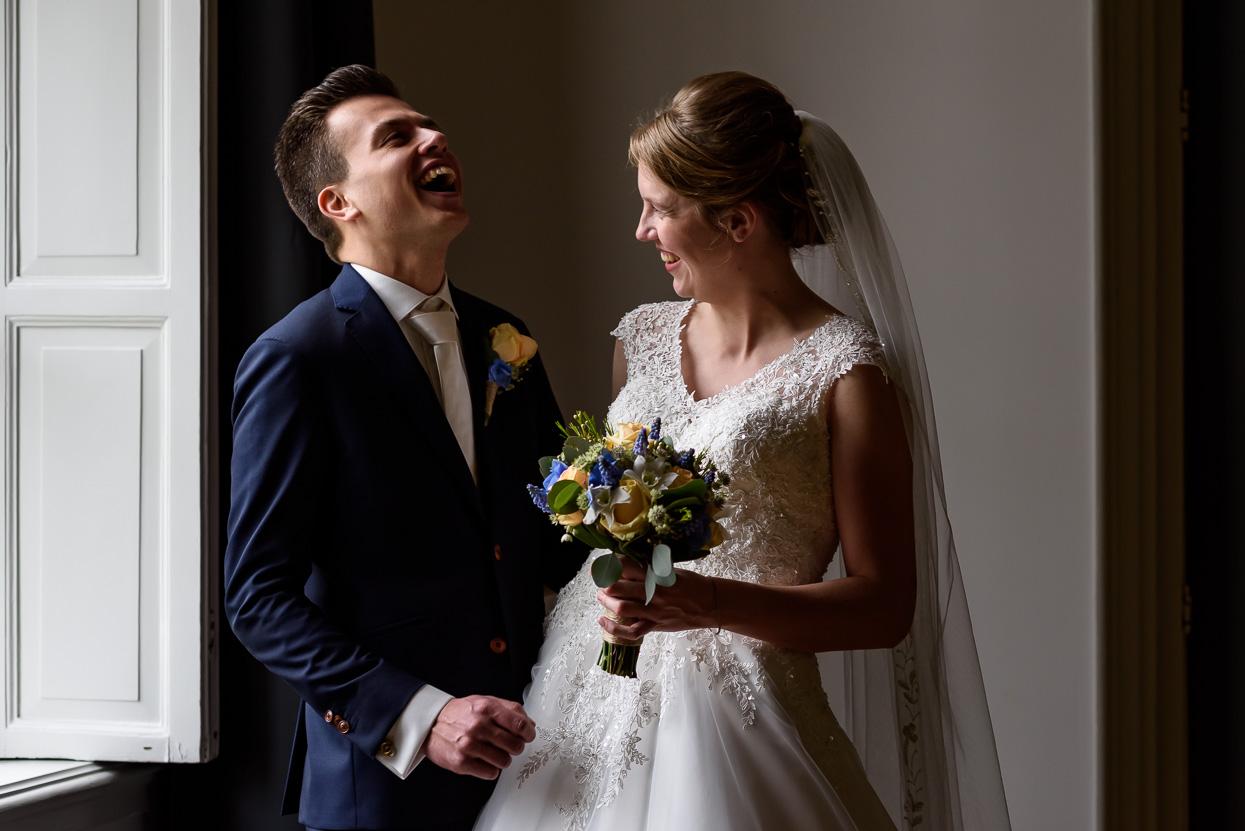 alternatieve locatie voor trouwfoto's wanneer het regent op je bruiloft
