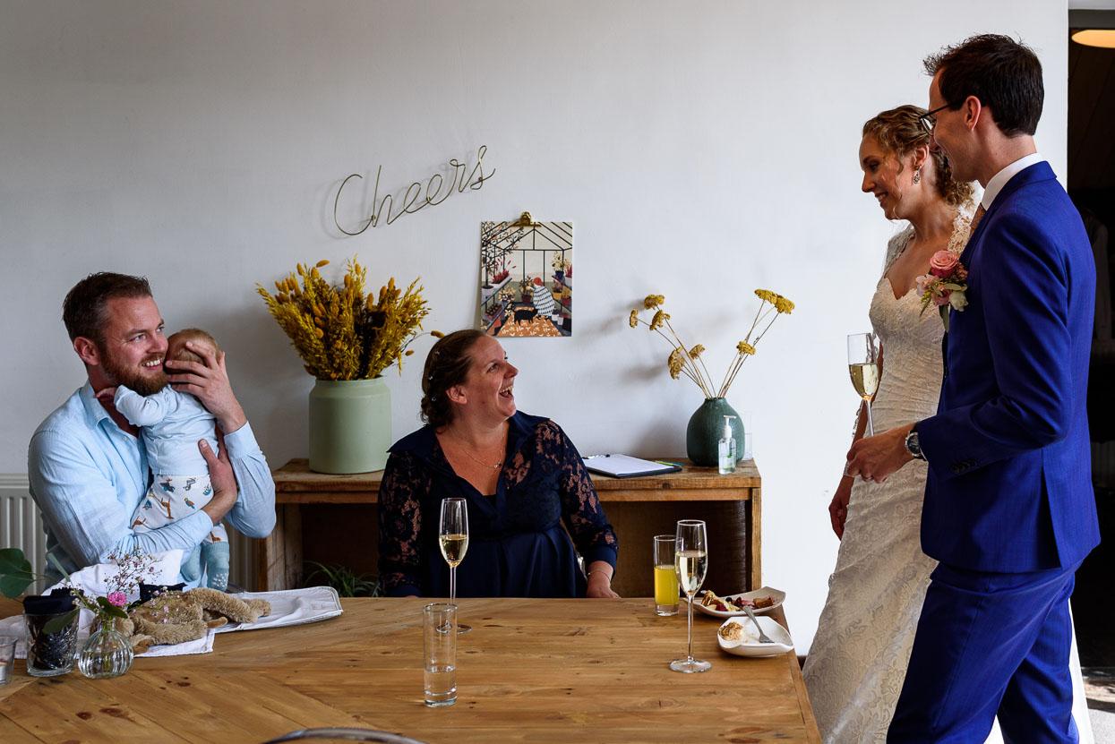 trouwen tijdens corona vieren