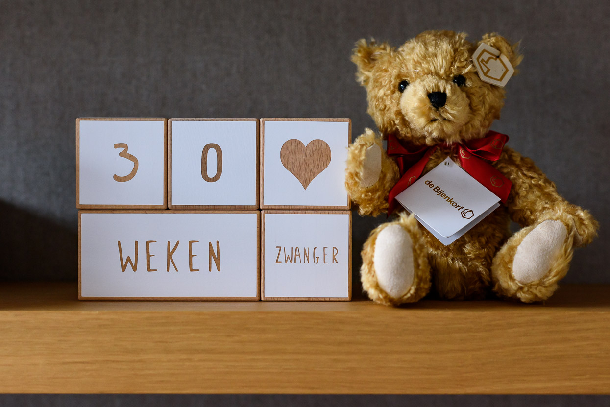30 weken zwanger blokken