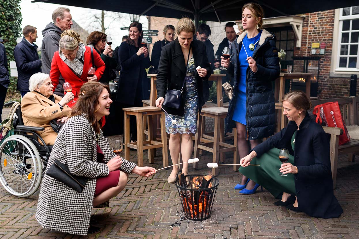 marshmallows roosteren trouwdag kasteel maurick vught