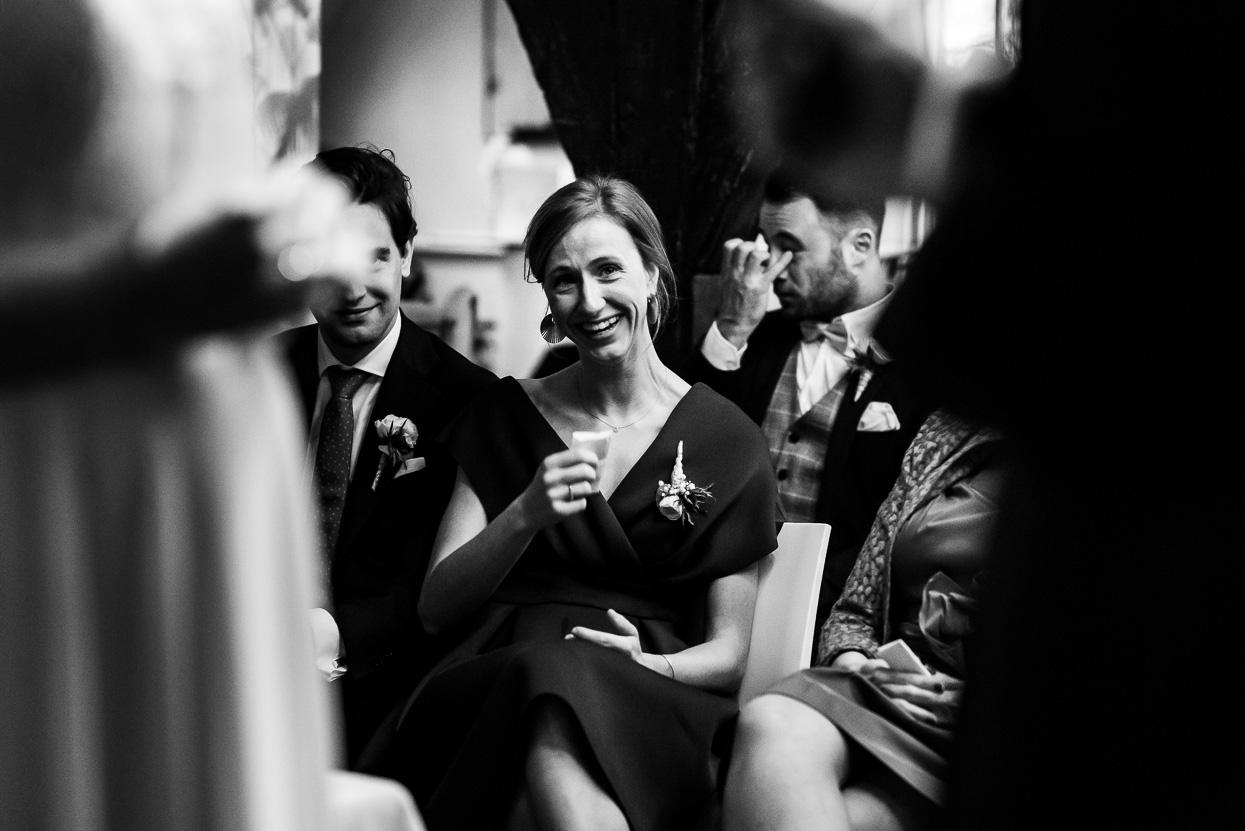 reacties van gasten op je bruiloft