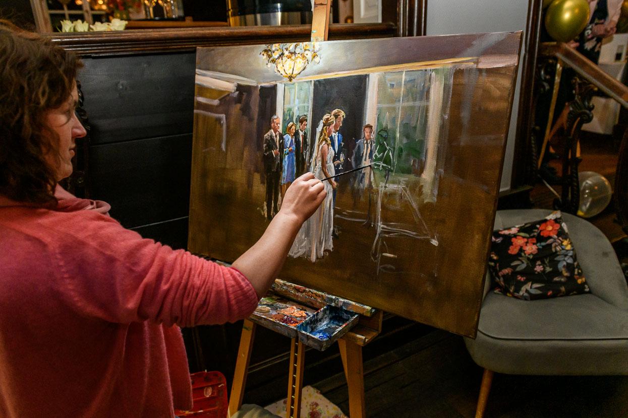 live painter dorien van den tol