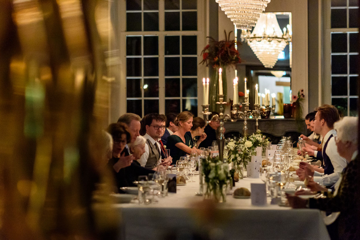diner bruiloft kasteel maurick in vught