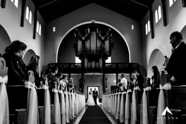 Azcona Fotografie Kerkelijk Huwelijk Entree